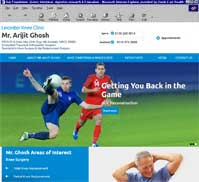 Leicester Knee Clinic<br>Mr. Arijit Ghosh
