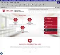 University of Utah - Pediatric Orthopaedics