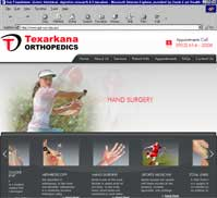 Texarkana Orthopedics <br> Doug Thompson MD