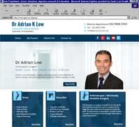 Dr Adrian K Low