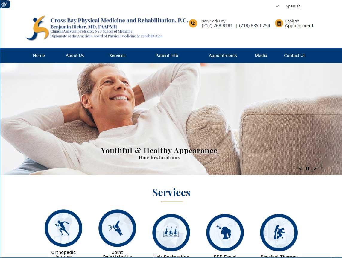 Cross Bay Physical Medicine and Rehabilitation, P.C<br>Benjamin Bieber, MD