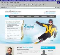 Mr.Deb Pal<br>Leeds Spine Clinic