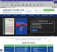 Michael P. Clare, M.D.