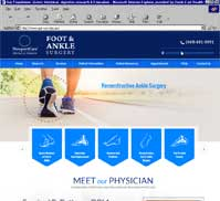 Foot & Ankle Surgery, NewportCare Medical Group