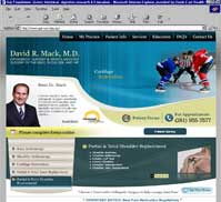 David Mack, MD Advanced Orthopaedics and Sports Medicine