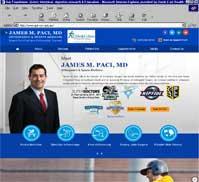 James M. Paci, M.D.