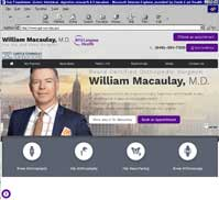 William Macaulay, M.D.