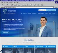Jasper Bone & Joint Orthopedics<br>Dan Morris, DO