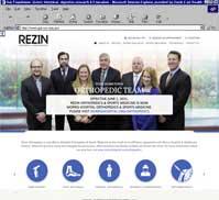 Rezin<br>Orthopedics + Sports Medicine