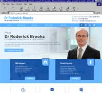 Dr Roderick Brooks