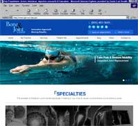 Bone & Joint Center<br>Thomas Ferro, MD