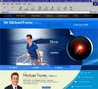 Mr Michael Foster F.R.A.C.S
