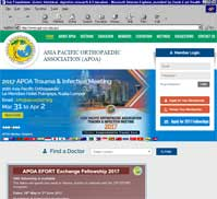 Asia Pacific Orthopaedic Association (APOA)
