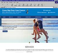 Cross Bay Foot Care Center<br>Debra Weinstock, DPM, FACFAOM