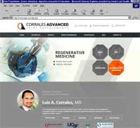 Luis A. Corrales MD