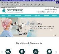 Greater Western Sydney Eye Surgeons<br>Dr Alison Chiu