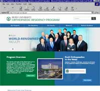 Rush University <br> Orthopaedic Residency Program
