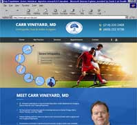 Carr Vineyard MD <br> Orthopedic Foot & Ankle Surgeon