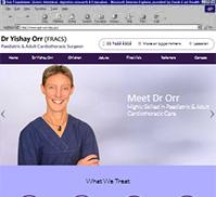Dr Yishay Orr (FRACS)
