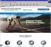 Crystal Clinic's Michael Magoline MD - Sports Medicine