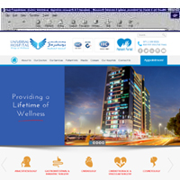 Universal Hospitals <br> Wings of Wellness