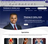 Thomas K John, M.D.