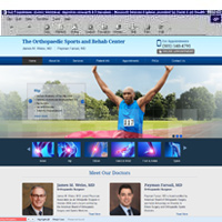 The Orthopaedic Sports and Rehab Center<br>James M. Weiss, MD