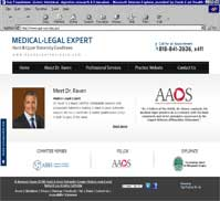 Medical-Legal Expert<br>Raymond Raven III, M.D.