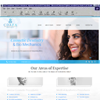 CDAFA - Cosmetic Dentistry & Facial Aesthetic Society