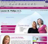 Lauren Phillips MD<br> Sugarland Womens Health