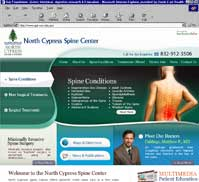 North Cypress Spine Center