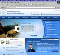 Peterborough and Stamford Orthopaedics Cambridgeshire UK 	  Peterborough and Stamford Orthopaedics