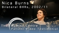 Birmingham Hip Resurfacing's in Females with Theatre Producer Nica Burns (BHR)