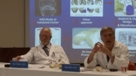 Why are some knee replacement implants metal and some are plastic?