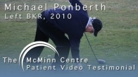 Golf and Physio with a Birmingham Knee Replacement (BKR) - Michael Ponberth