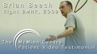 Squash with a BMHR (Birmingham Mid Head Resection) Hip Replacement - Brian Beech