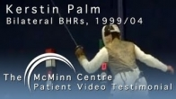 Foil Fencing with a Birmingham Hip Resurfacing (BHR) - Seven Time Olympic Fencer Kerstin Palm