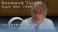Former MP Des Turner Speaking About His Birmingham Hip Resurfacing (BHR)