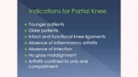 Partial Knee Solutions