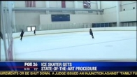 Dr. Badlani featured on KRIV- Back on the ice