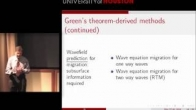 Arthur Weglein's Tutorial - on the inverse scattering series and Green's theorem for preprocessing