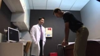 Dr. Shane Nho and Hip Arthroscopy patient Joe Emerich