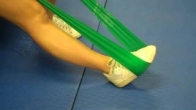 Home Exercise for the Ankle Using Theraband