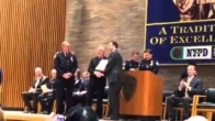 Dr. Dan Polatsch was inducted as an Honorary Police Surgeon by NYPD.