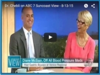 Dr. Chebli on ABC 7 Suncoast View - 8-13-15