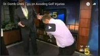Dr. Domb Gives Tips on Avoiding Golf Injuries