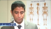 Dr. Sujal Desai, orthopedic surgeon at LCMH, featured on WGN News