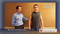 After shoulder surgery - basic exercises