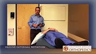 After shoulder surgery - Intermediate exercises