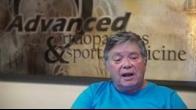 Robbins Testimonial - Advanced Orthopaedics & Sports Medicine
